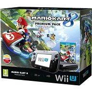 Nintendo Wii U Black Premium Pack (32GB) + Mario Kart 8
