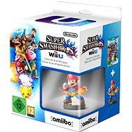 Nintendo Wii U - Super Smash Bros. + figurka Amiibo Mario