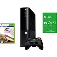 Microsoft Xbox 360 500GB (Reface Edition) + Forza Horizon 2 (Voucher) + 1 měsíc Xbox Live Gold