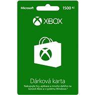 Microsoft Xbox Live Dárková karta v hodnotě 1500Kč
