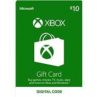 Microsoft Xbox Live Dárková karta v hodnotě 10 Eur