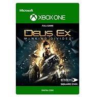 Deus Ex Mankind Divided: Standard Edition - Xbox One