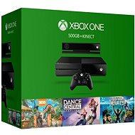 Microsoft Xbox One se senzorem Kinect + 3 hry