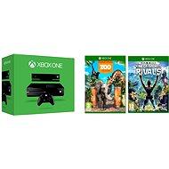 Microsoft Xbox One se senzorem Kinect + 2 hry