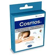 COSMOS Náplast dětská antibakteriální - 7,6 x 7,6 cm (4 ks)