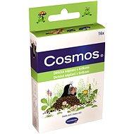 COSMOS Náplast dětská s krtkem - 3 velikosti (16 ks)