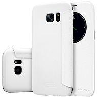 NILLKIN Sparkle S-View pro Samsung G935 Galaxy S7 edge bílé