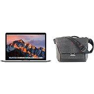 """APPLE MacBook Pro 13"""" Retina CZ 2017 Vesmírně šedý + Peak Design Everyday Messenger 13""""- tmavě šedá"""