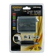 DC/AC 12V/230V 100W, USB