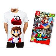Super Mario Odyssey + Originál Tričko - Nintendo Switch