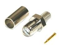 Konektor SMA reverzní-Male pro RG-58/ LMR-195