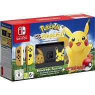 Nintendo Switch + Pokémon: Lets Go Pikachu + Poké Ball