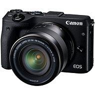 Canon EOS M3 černý + objektiv EF-M 18-55 mm