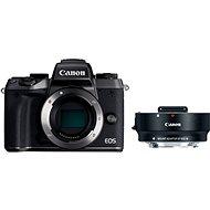 Canon EOS M5 tělo černý + adaptér EF-EOS M
