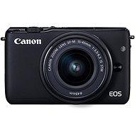 Canon EOS M100 černý + M15-45mm stříbrný