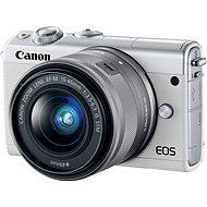 Canon EOS M100 bílý + M15-45mm stříbrný