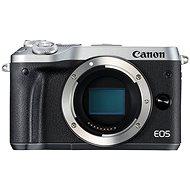 Canon EOS M6 tělo stříbrný