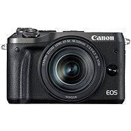 Canon EOS M6 černý + EF-M 18-150mm
