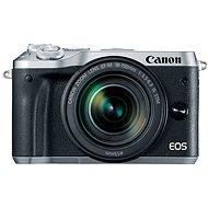 Canon EOS M6 stříbrný + EF-M 18-150mm