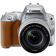 Canon EOS 200D stříbrný + 18-55mm IS STM