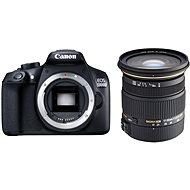 Canon EOS 1300D tělo + Sigma 17-50mm
