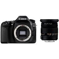 Canon EOS 80D + Sigma 17-50mm