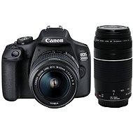Canon EOS 2000D + 18-55mm IS II + 75-300mm DC III