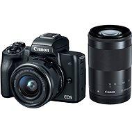 Canon EOS M50 černý + EF-M 15-45 mm IS STM + EF-M 55-200 mm
