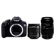 Canon EOS 1300D + EF-S 18-55mm DC + Tamron 70-300mm Macro