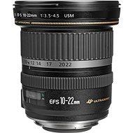 Canon EF-S 10-22mm f/3.5 - 4.5 USM Zoom černý