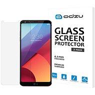 Odzu Glass Screen Protector 2pcs LG G6