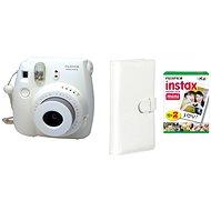 Fujifilm Instax Mini 8 Instant camera bílý Laporta kit