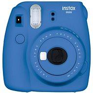 Fujifilm Instax Mini 9 tmavě modrý + film 1x10 + pouzdro