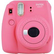 Fujifilm Instax Mini 9 růžový + film 1x10 + pouzdro