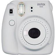 Fujifilm Instax Mini 9 popelavě bílý + film 1x10 + pouzdro