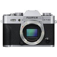 Fujifilm X-T20 tělo stříbrný