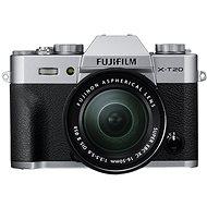Fujifilm X-T20 stříbrný + XC16-50mm F3.5-5.6 OIS II