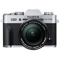 Fujifilm X-T20 stříbrný + XF 18-55mm F 2.8-4 R LM OIS
