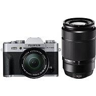 Fujifilm X-T20 stříbrný + XC16-50mm F3.5-5.6 OIS II + XC50-230mm F4.5-6.7 OIS II