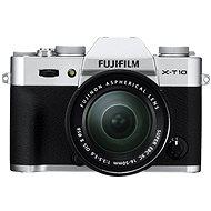 Fujifilm X-T10 Silver + objektiv XC16-50mm