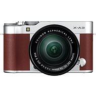 Fujifilm X-A3 hnědý + 16-50mm II