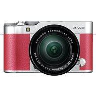 Fujifilm X-A3 růžový + 16-50mm II