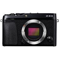Fujifilm X-E3 tělo černý