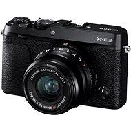 Fujifilm X-E3 černý + XF 23mm