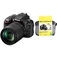 Nikon D3300 + Objektiv 18-105 AF-S DX VR + Nikon Starter Kit