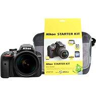 Nikon D3400 černý + 18-105mm VR + Nikon Starter Kit