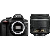 Nikon D3400 černý + 18-55mm AF-P