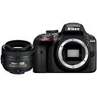 Nikon D3400 černý + 35mm DX