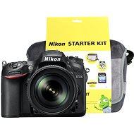 Nikon D7200 černý + objektiv 18-105 VR AF-S DX + Nikon Starter Kit