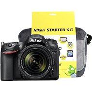 Nikon D7200 černý + objektiv 18-140 VR AF-S DX + Nikon Starter Kit
